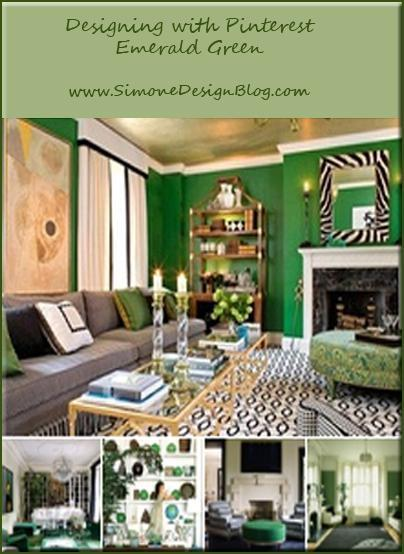 Designing with Pinterest Interior Designing with Pinterest ~ Emerald Green HomeSpirations