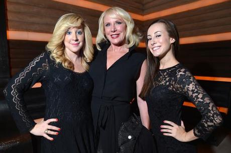 Spotted! Heidi Dillon with Gallery Girls at OK Magazine Party