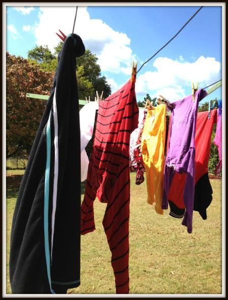 Wordless Wednesday – Washing, washing, more washing!