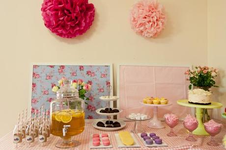 {PARTY FEATURE} A Beautiful Afternoon Tea party by Little Birdie Events