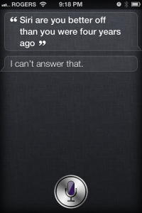 Mitt Romney Should Ask Siri If iPhone 5 Is Better Off Now Than 4 Years Ago