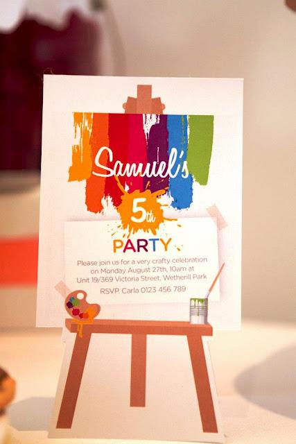 {PARTY FEATURE} An Art party by Bellezza Interiors