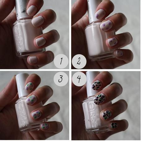 Nail Art : Leopard Print Nails