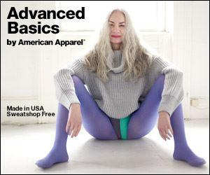 american apparel Is 82 really the new 16?