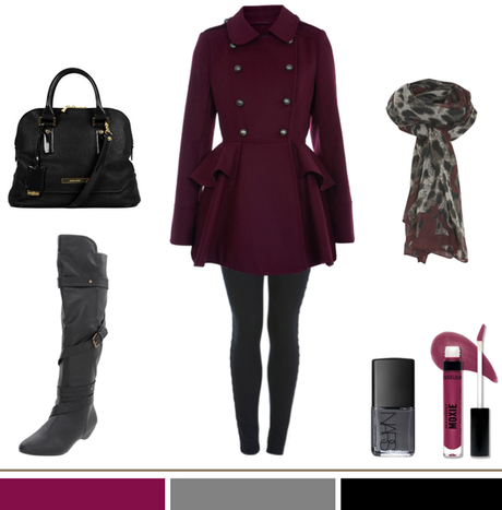 Berry + Leopard + Gray…