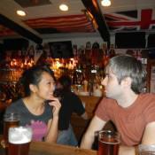 Pints at the pub