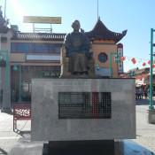 Cool Statue in Chinatown LA