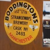 Enjoy a Boddingtons!
