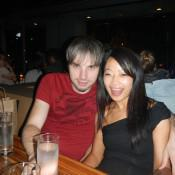Brant and Yolanda at BOA Steakhouse LA