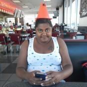 Lauren the cone head