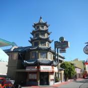 Pagoda in Chinatown LA