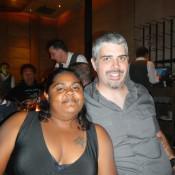 Kenin and Lauren at BOA Steakhouse