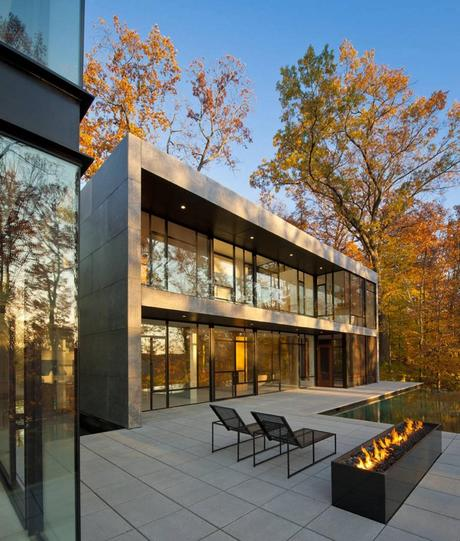 Wissioming2 House by Robert M. Gurney Architect