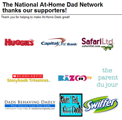 At Home Dads Convention Sponsors