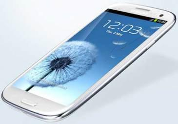 Samsung Galaxy SIII features – Motion Control