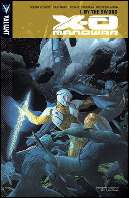 X-O Manowar Vol. 1: By The Sword TPB Cover