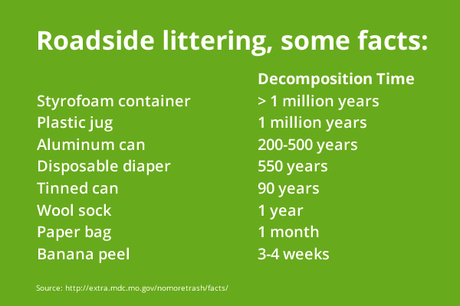 Five Friday Facts: How Long To Decompose?