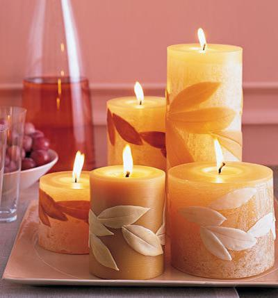 martha stewart Fall Color ~ Designing with Shades of Yellow HomeSpirations