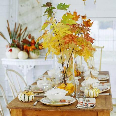 bhg via pinterest Fall Color ~ Designing with Shades of Yellow HomeSpirations