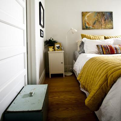 apartmenttherapy Fall Color ~ Designing with Shades of Yellow HomeSpirations