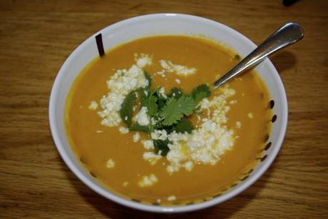 Guest Post: Curried Sweet Potato-Apple Soup