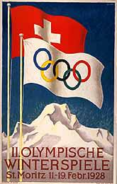 1928 Winter Olympic Opening Ceremony - St. Moritz