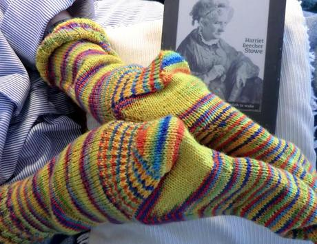 Knitted Socks Ready in a Casual, Chic Sort of Way