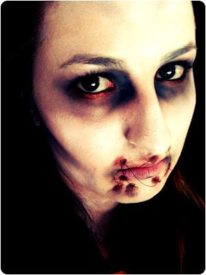 Halloween Tutorial - Dead Girl - Paperblog
