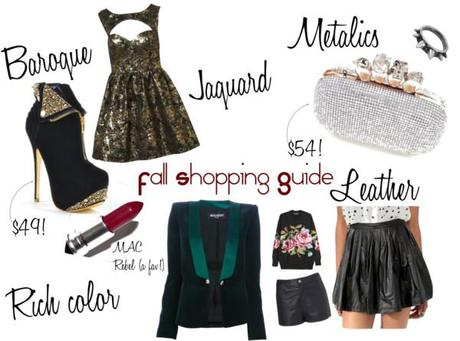 Fall Shopping Guide 2012 pt 2