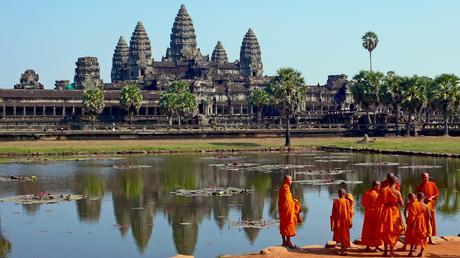 Angkor Wat, Cambodia's top tourist attraction