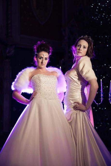 Winter Wedding Cover Ups — Luxurious Fur & Feather Shrugs & Boleros from Wrapor