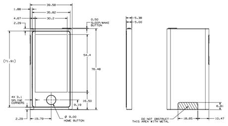 Используя опубликованную документацию к новым iPod touch и iPod nano производители могут разрабатывать дизайны чехлов...