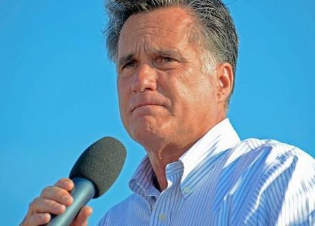 Mitt Romney in 47 percent gaffe