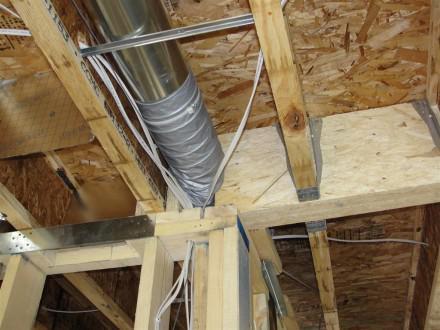 HVAC - crushed duct