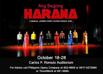 Ang Bagong Harana, now on its 3rd rerun, at RCBC Theater Oct. 18-28