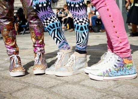 Top-to-toe style at London Fashion Week. Photo Credit: Flickr.