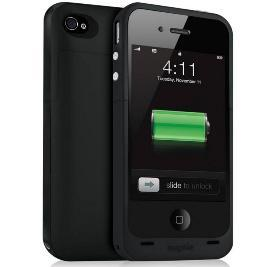 iPhone 4, 4S Mophie Juice Pack Plus Battery Case