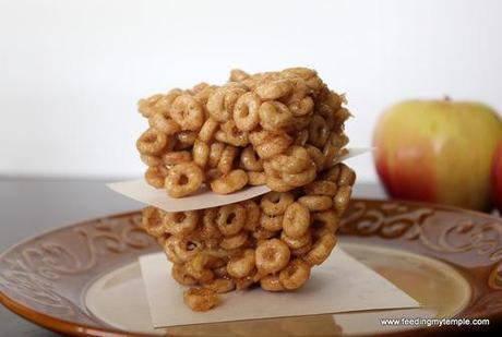 Apple Cinnamon Cereal Treats