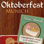 Infographic on Oktoberfest 2012