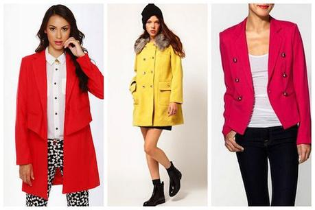Bostonista Obsessions: Candy Colored Jackets