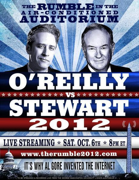 The Rumble in the Air-Conditioned Auditorium: Jon Stewart vs. Bill O'Reilly