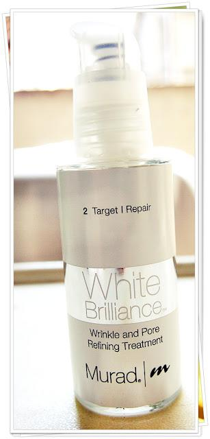 Murad: White Brilliance Wrinkle and Pore Refining Treatment Review