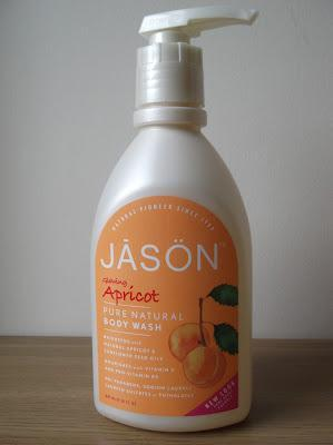 Review of JASON Glowing Apricot Body Wash
