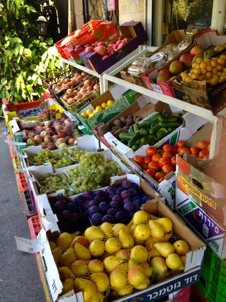 Produce at the market
