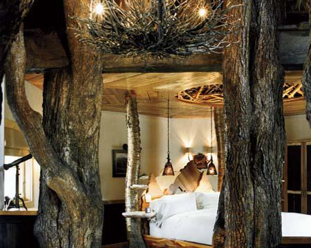 winvian townandcountrytravelmag com Eco Day ~ Tree House Hotel Designs HomeSpirations