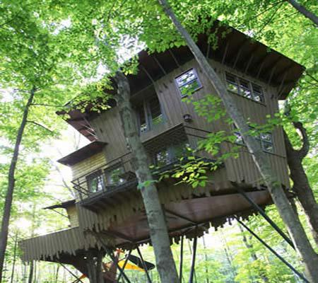 Winvian Eco Day ~ Tree House Hotel Designs HomeSpirations