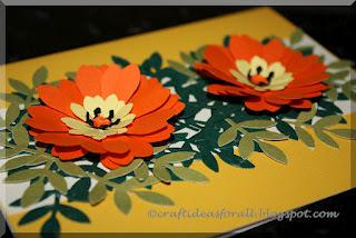Flower greeting card using paper punches paperblog flower greeting card using paper punches mightylinksfo