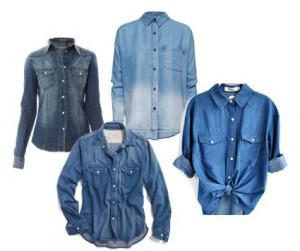 Yeehaw! Denim Shirts are Hot for Fall