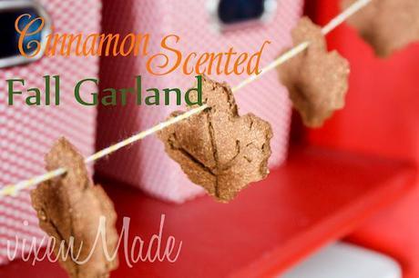 Cinnamon Scented Fall Garland