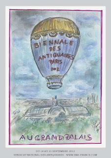 September Decorative Arts Calendar: The Paris Edition